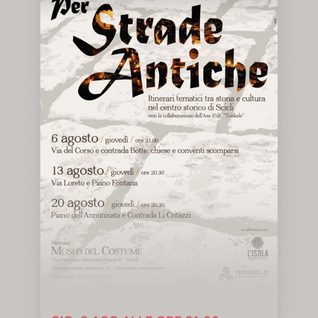 Per Strade Antiche MUSEO DEL COSTUME