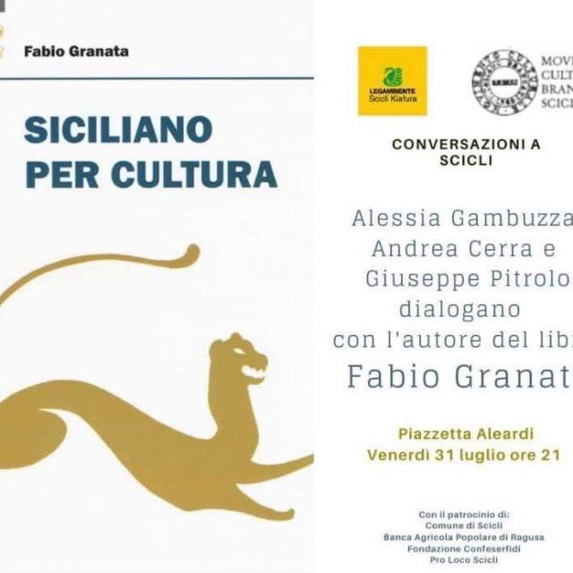 Presentazione libro Fabio Granata – MOVIMENTO CULTURALE BRANCATI
