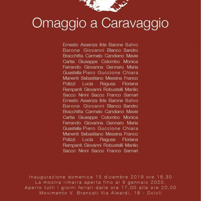 Al Brancati la mostra di Natale dedicata a Caravaggio